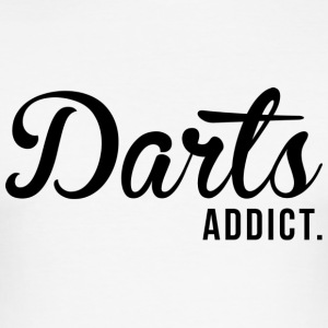 darts Addict - Men's Slim Fit T-Shirt