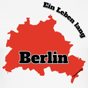 Berlin - En levetid - Slim Fit T-skjorte for menn