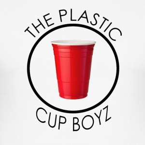 THE PLASTIC CUP BOYZ - Men's Slim Fit T-Shirt
