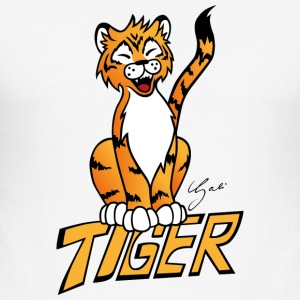 tiger - Herre Slim Fit T-Shirt