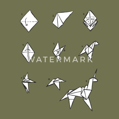 Origami Unicorn Inspired By Blade Runner By Tshirtgk Spreadshirt