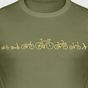 velo ution bike wear bicycle evolution - slim fit T-shirt
