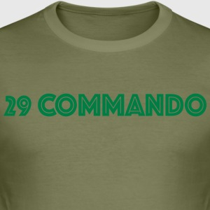 29 Cdo 2 - Slim Fit T-skjorte for menn
