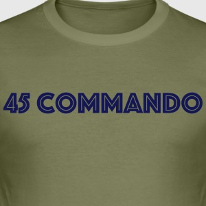 45 Kommando 2 - Slim Fit T-skjorte for menn