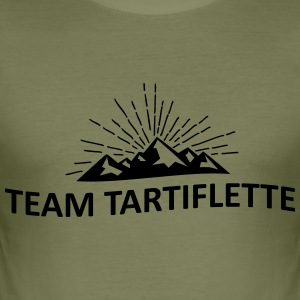 Team Tartiflette - Männer Slim Fit T-Shirt