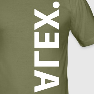 alex - Männer Slim Fit T-Shirt