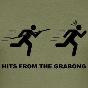 HITS FROM THE GRABONG - Men's Slim Fit T-Shirt