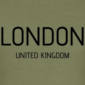 London uk - Men's Slim Fit T-Shirt