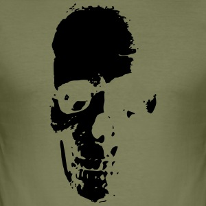 Old skull - Men's Slim Fit T-Shirt
