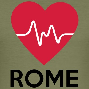 heart Rome - Men's Slim Fit T-Shirt