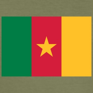 National Flag Of Cameroon - Men's Slim Fit T-Shirt