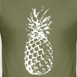 pineapple - Men's Slim Fit T-Shirt