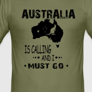 Australie - Men's Slim Fit T-Shirt