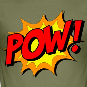 Zack Pow Peng - Slim Fit T-shirt herr