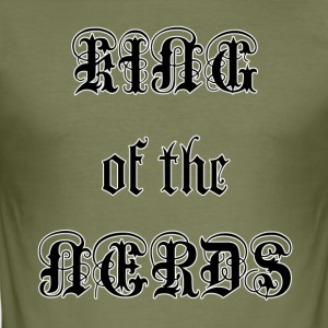 King of the Nerds - Men's Slim Fit T-Shirt