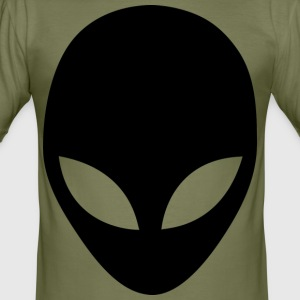 alien en - Slim Fit T-shirt herr