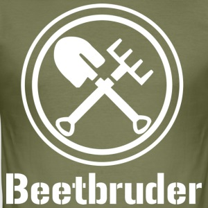 Beetbruder - Slim Fit T-skjorte for menn