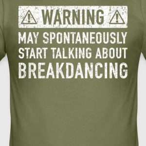Original Breakdancing Design: Order Here - Men's Slim Fit T-Shirt