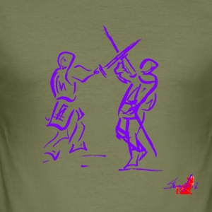 PURPLE SWORD - slim fit T-shirt