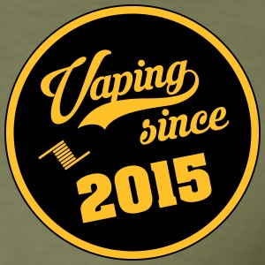 Vaping sinds 2015 - slim fit T-shirt