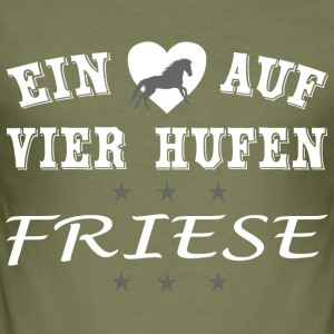 Friese - Männer Slim Fit T-Shirt