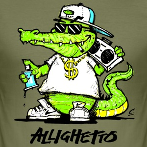 Allighetto - Men's Slim Fit T-Shirt