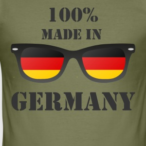 Made in Germany - Slim Fit T-skjorte for menn