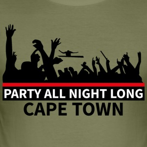 CAPE TOWN Party - Tee shirt près du corps Homme