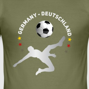 doel omhaal Voetbal Duitsland Meister thee - slim fit T-shirt