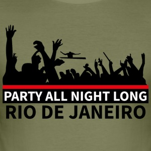 RIO DE JANEIRO - Party All Night Long - Slim Fit T-skjorte for menn