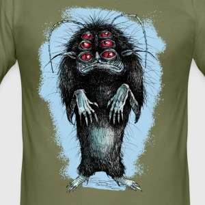 MONSTER - Tee shirt près du corps Homme