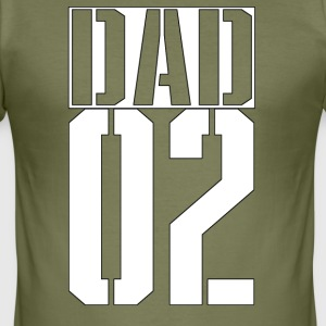 DAD - Männer Slim Fit T-Shirt