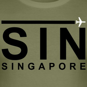SIN Black - slim fit T-shirt
