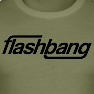 Flash Bang Single - 100kr Donation - Men's Slim Fit T-Shirt
