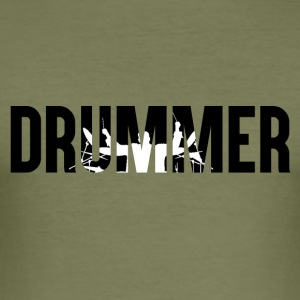 Drummer - Drummer - Drummer Passion - Men's Slim Fit T-Shirt