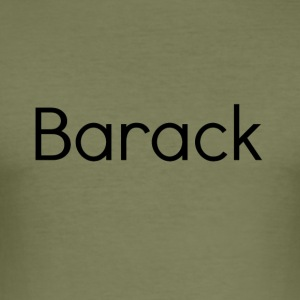 barack - Herre Slim Fit T-Shirt