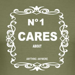 NO 1 CARES - Slim Fit T-shirt herr