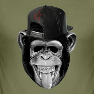 monkeybusiness - Slim Fit T-skjorte for menn