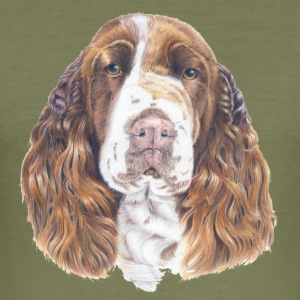 English Springer Spaniel - Men's Slim Fit T-Shirt