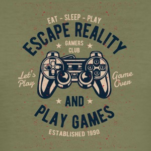 Escape Reality - Men's Slim Fit T-Shirt