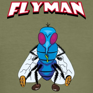 Fly Man - Slim Fit T-skjorte for menn