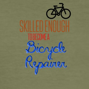 Bicycle Repair - Men's Slim Fit T-Shirt