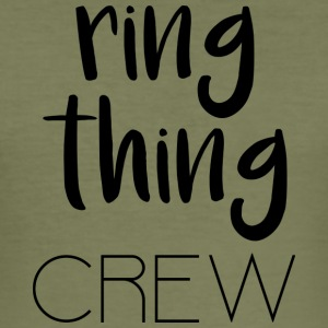 Ring Thing Crew - Slim Fit T-shirt herr
