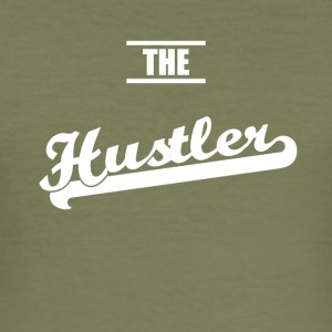 the hustler - Männer Slim Fit T-Shirt