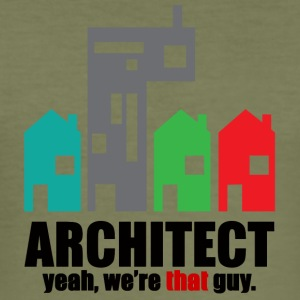 Architect / Architectuur: Architect. Ja, we - slim fit T-shirt