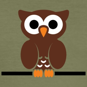 owl145 - Männer Slim Fit T-Shirt