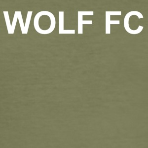 WOLF FC Svart - Slim Fit T-skjorte for menn