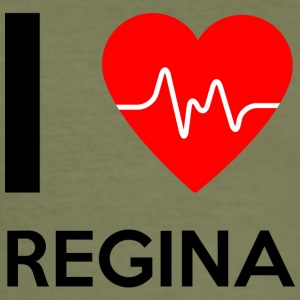 I Love Regina - I Love Regina - Men's Slim Fit T-Shirt