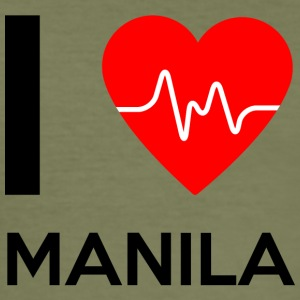 I Love Manila - I love Manila - Men's Slim Fit T-Shirt