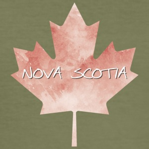 Nova Scotia Maple Leaf - Slim Fit T-skjorte for menn